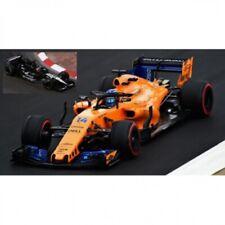1:43rd Fernando Alonso 2001 Minardi PS01- 2018 McLaren MCL Set