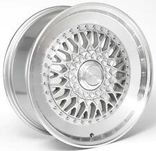 Alloy Wheels (4) 8.0x18 Drehen DH-X Silver Polished Lip 5x112 et40