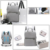 Camera Photo Lens Video Digital Laptop PC Bag Backpack Water-Resistant / GY