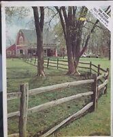 "Vintage Whitman ""Green Pasture"" 1000 piece 22"" x 28"" jigsaw picture puzzle"