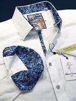 Robert Graham 3XL Shirt Mens Rialto White Egyptian Cotton Long Sleeve New