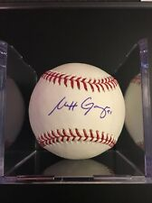 Matt Garza Autograph Baseball Twins/Rays/Brewers