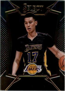 2014-15 Jeremy Lin Select Los Angeles Lakers Basketball Card #36 NEW