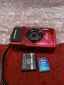 Olympus Stylus Tough TG-4 16.0MP GPS Wi-Fi Water/Shockproof Digital Camera - Red