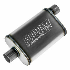 "Flowmaster Flow FX Muffler 2.5"" Offset Inlet 2.5"" Center Outlet 20"" Length 71226"