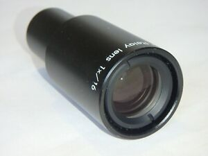 Nikon TV Relay lens 1x/16 - 23mm fit- near mint conditions - RARE