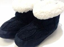 Women's Mad Love Camella Bootie Slippers Black M 7 / 8 Stay Warm This Season NEW