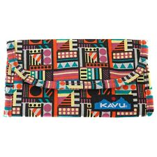 Kavu BIG SPENDER WALLET Canvas Organizer Wallet GEOMETRY Multi-Colored NWT!