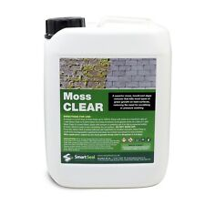 Moss Killer for Tarmac - Highly Effective, Easy Application, Just Spray & Leave