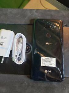 LG V35 ThinQ - 64GB - Aurora Black (Unlocked) Smartphone