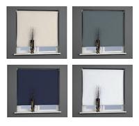 EASY FIT Universal Thermal BLACKOUT Easy Cut Roller Blind Blinds 170cm drop