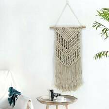 Bohemian Woven Wall Hanging Macrame Boho Tapestry Bedroom Home Craft Decoration