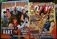 1 MANGA MANIA, HART, HOW TO DRAW JAPANESE COMICS, 1 SHONEN JUMP