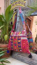 Ethnic vintage tribal Boho gypsy festival hippie banjara kuchi shoulder bag