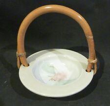 ROBERT GORDON Pottery,Bon Bon bowl /dish, Bamboo handle