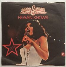 "Donna Summer - Heaven Knows - Casablanca Records 7"" Single  CAN 141 VG+/G"