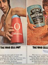 The Who,The Who Sell Out,POSTER,STICKER, MONO, EX+/VG+,Psychedelic,Freakbeat,