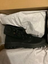 Palladium Baggy Canvas Boots (Black/Black / Men's / 8(M) U.S Size)