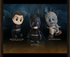 2012 Hot Toys DC Batman Begins Mini Cosbaby Set Of 3