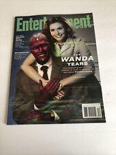 Entertainment Weekly Magazine (Dec 2020) Marvel Avengers - WANDA-VISION
