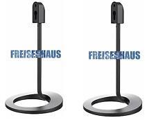 1 PAAR Boden Tisch Lautsprecherständer Bodenständer Lautsprecherstativ Standfuß