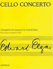 Concerto for Cello Op. 85 Arranged for Viola & Piano NEW 014010097