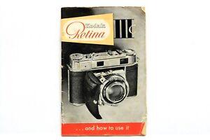 Kodak Retina IIIC ... and how to use it Instructions #P4138
