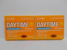 2X Health A2Z Daytime Cold and Flu Relief Non-Drowsy 8 Softgels Exp. 10/2019