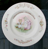 Tom Kitten Christening Celebration Beatrix Potter Royal Albert England 1986