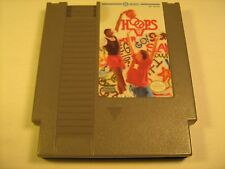 NES Nintendo Game HOOPS [Y74j]