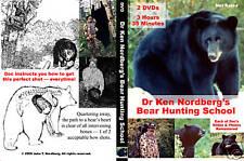Dr. Ken Nordberg's Bear Hunting School 2 Disc Dvd Set