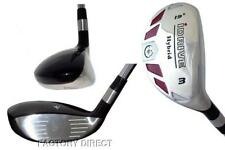 New Hybrid made Womens Graphite taylor fit #3 Iron Wood rescue 19° Golf Club +HC