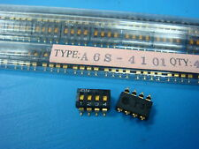 (10) OMRON A6S-4101 4 POSITION DIP SWITCH TOP ACTUATE 8PIN SMT TERMINAL STANDARD