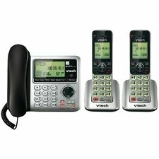 VTech CS6529-3 DECT 6.0 Home 3 Cordless Handsets Phone Caller ID/Call Waiting