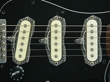 3 LONGHORN STEER SKULL SINGLE COIL GUITAR PICKUP RINGS