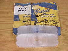 1954 Chevrolet GM NOS Guide Park Lamp LENS 5942343 PAIR