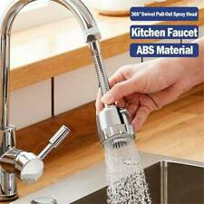 Kitchen Tap Head Water Saving Faucet Extender Sprayer Sink Spray Aerator Set UK