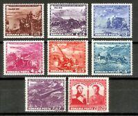 DR Romania Nazi Rare WWII Stamp 1943 War Scenes Soldier Artillery Legion Ostland