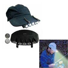 5 Bright LED Cap Hat Hand Free Bike Hunting Fishing Travel Headlamp Light Hot