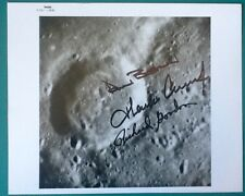 Apollo 12 Crew Signed Autographed 8x10 NASA Photo - Alan Bean Conrad Gordon