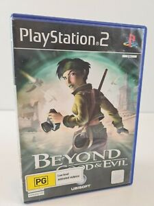 Beyond Good & Evil PS2 Playstation 2 Game COMPLETE with Manual