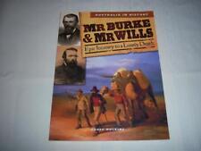 Australia in History Mr Burke & Mr Wills By Geoff Hocking Book