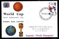 GB 1966 World Cup Winners Connoisseur FDC Harrow & Wembley FDI WS19456