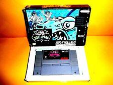 Joe & and Mac Super Nintendo SNES  in box actual pictures