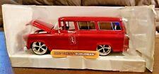 Jada Toys 1957 Chevy Suburban 1:24 Red Diecast Fairfield Mint Dub City 53267