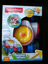 FISHER PRICE BUBBLE MOWER. NEW sealed box.