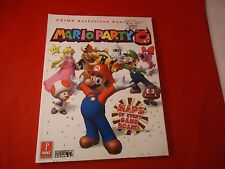 Mario Party 8 Nintendo Wii Strategy Guide Player's Hint Book