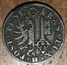 TRÈS BELLE PIÈCE DE 10 CENTIMES  1839 CANTON DE GENÈVE (585)