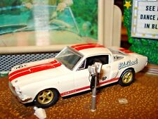 "1966 66 SHELBY GT 350 LIMITED EDITION 1/64 WHITE M2 ""EDELBROCK"" MANIFOLDS"