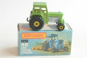Matchbox Lesney New 46 Ford Tractor - Made In England - Boxed - (B49)